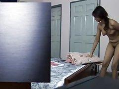Любительские роговой азиатские мама кремы на ее фаллоимитатор