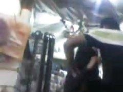 Анджелина Кастро получает Страпон от тренировки мышечной детка!!