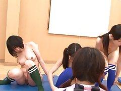 webcamz Архив - гимнастические девушка побрился на веб-камеру