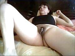 ми Тиа Эрлинда masturbandose mientras Комплеск