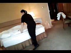 Flashin горничной отеля. часть 3. ВАНК