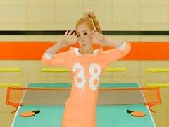 Порно музыка видео оранжевая помада карамель