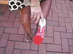 WCP club домохозяйка Черная роза анальный creampied