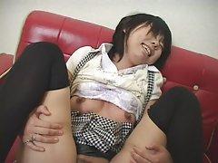Сексуальная японская мама и молодой парень